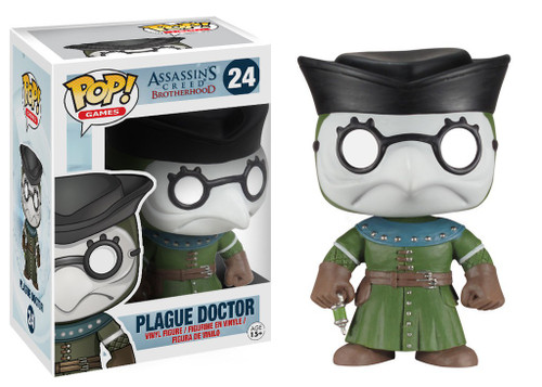 Funko Assassin's Creed POP! Games Plague Doctor Vinyl Figure #24
