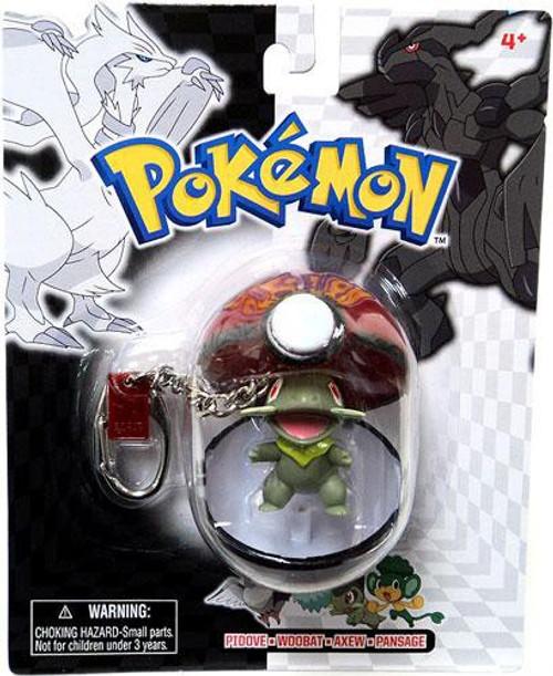 Pokemon Black & White Series 24 Axew Keychain