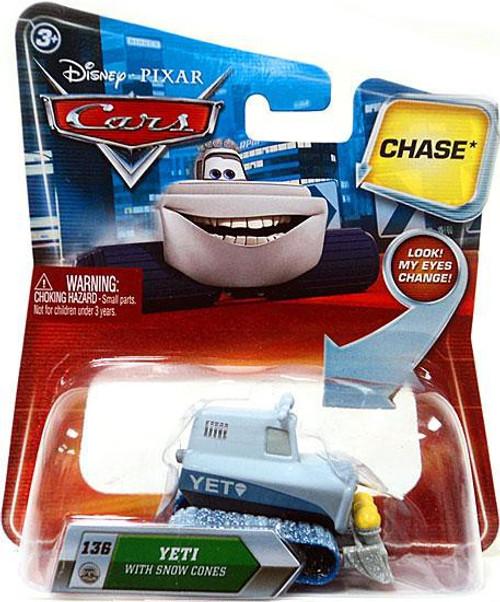 Disney / Pixar Cars Lenticular Eyes Series 2 Yeti with Snow Cones Diecast Car