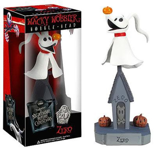 Funko Nightmare Before Christmas Wacky Wobbler Zero Bobble Head