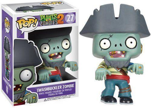 Funko Plants vs. Zombies 2 POP! Games Swashbuckler Zombie Vinyl Figure #27