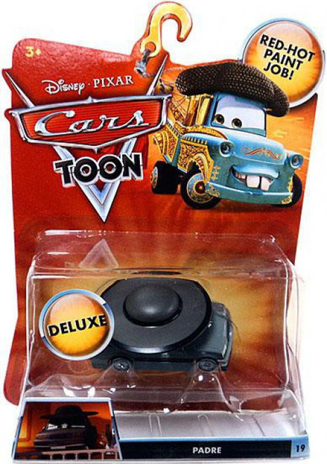 Disney / Pixar Cars Cars Toon Deluxe Oversized Padre Diecast Car