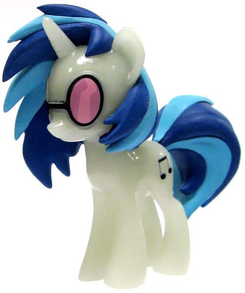 Funko My Little Pony Series 1 Mystery Minis GLOW-IN-THE-DARK DJ P0N-3 [Vinyl Scratch] 1/12 Mystery Minifigure [Glow in the Dark Loose]