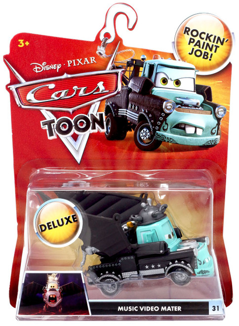 Disney / Pixar Cars Cars Toon Deluxe Oversized Music Video Mater Diecast Car