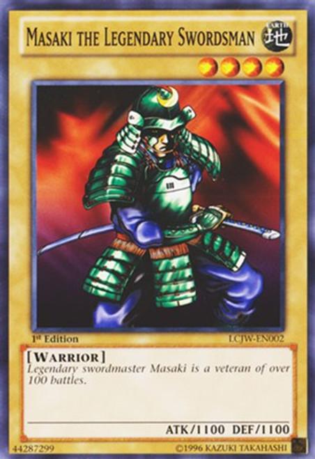YuGiOh Legendary Collection 4: Joey's World Common Masaki the Legendary Swordsman LCJW-EN002