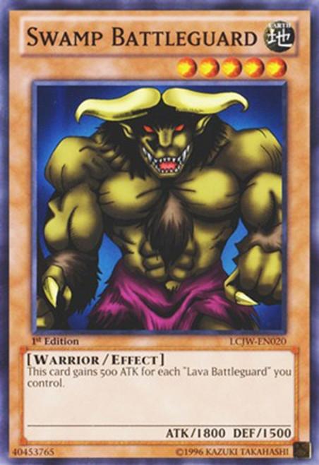 YuGiOh Legendary Collection 4: Joey's World Common Swamp Battleguard LCJW-EN020