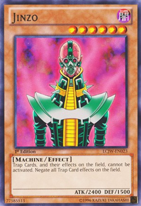 YuGiOh Legendary Collection 4: Joey's World Rare Jinzo LCJW-EN023