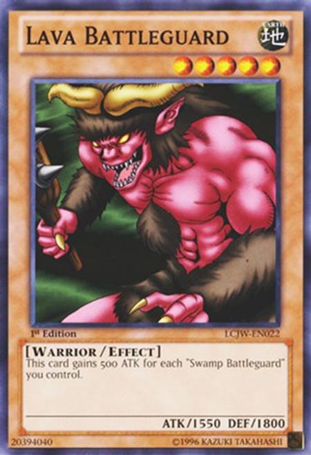 YuGiOh Legendary Collection 4: Joey's World Common Lava Battleguard LCJW-EN022