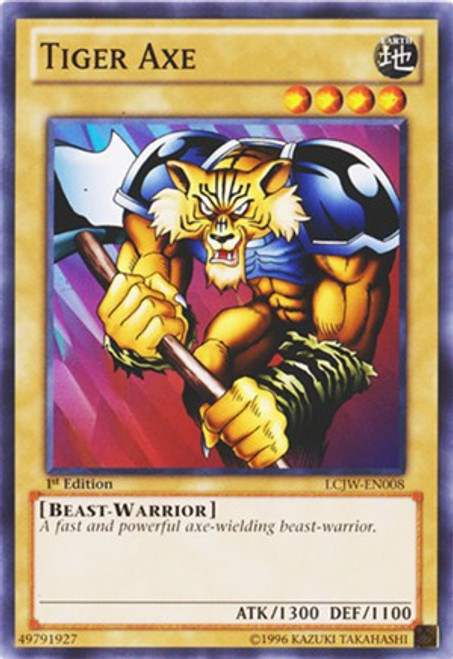 YuGiOh Legendary Collection 4: Joey's World Common Tiger Axe LCJW-EN008