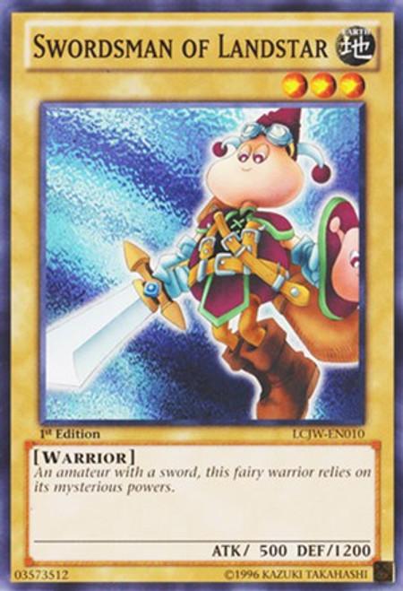 YuGiOh Legendary Collection 4: Joey's World Common Swordsman of Landstar LCJW-EN010