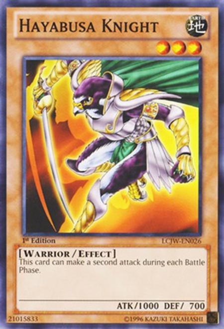 YuGiOh Legendary Collection 4: Joey's World Common Hayabusa Knight LCJW-EN026