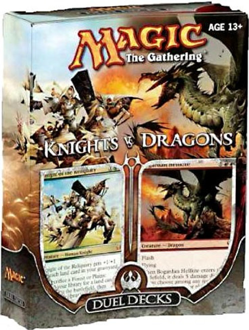 MtG Trading Card Game Knights vs. Dragons Duel Decks