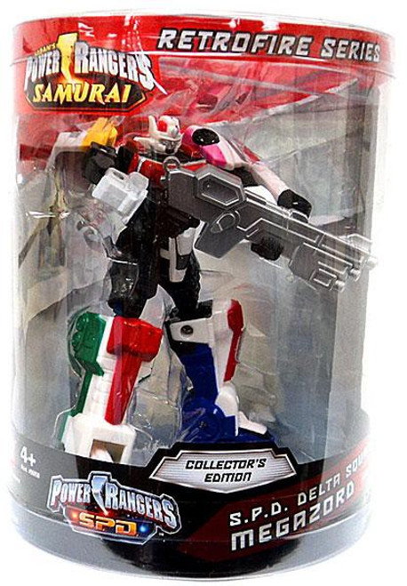 Power Rangers SPD Retrofire Series S.P.D. Delta Squad Megazord Action Figure