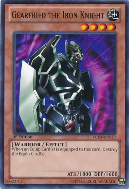 YuGiOh Legendary Collection 4: Joey's World Common Gearfried the Iron Knight LCJW-EN030