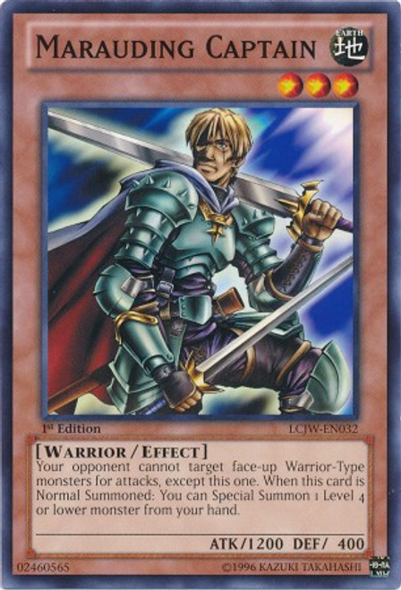 YuGiOh Legendary Collection 4: Joey's World Common Marauding Captain LCJW-EN032