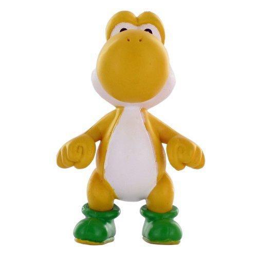Super Mario Yoshi Mini Figure [Yellow Loose]