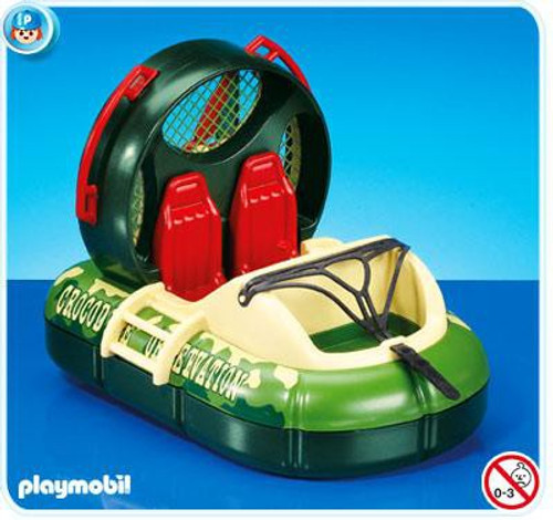 Playmobil Adventure Hovercraft Set #7491