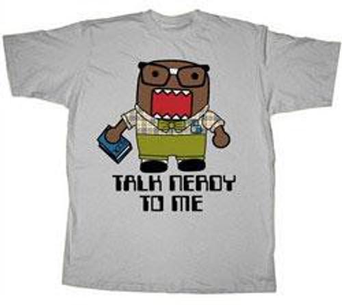 Domo Talk Nerdy T-Shirt [Adult LARGE]