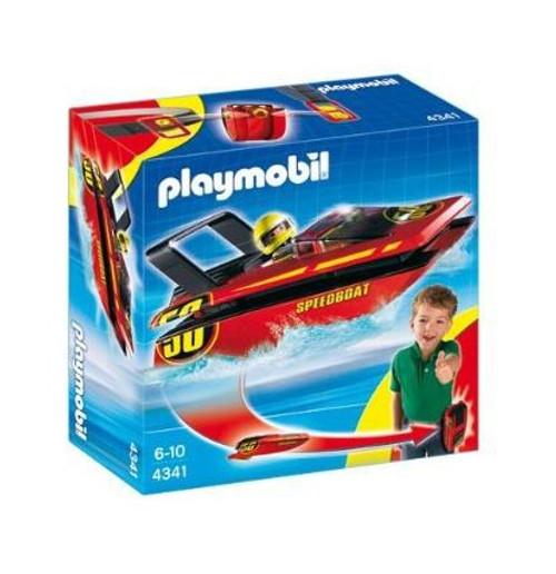 Playmobil Transport Carry Along Speedboat Set #4341