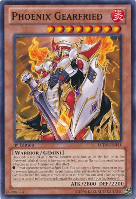 YuGiOh Legendary Collection 4: Joey's World Common Phoenix Gearfried LCJW-EN051
