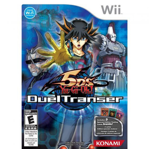 YuGiOh YuGiOh 5D's Nintendo Wii Duel Transer Video Game [Opened]