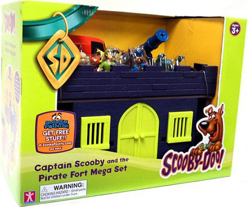 Scooby Doo Captain Scooby & Pirate Fort Mega Set