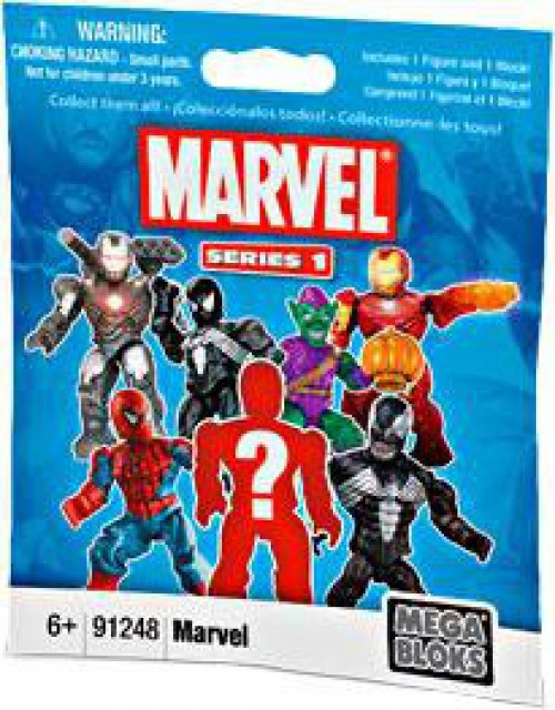Mega Bloks Marvel Series 1 Minifigure Mystery Pack
