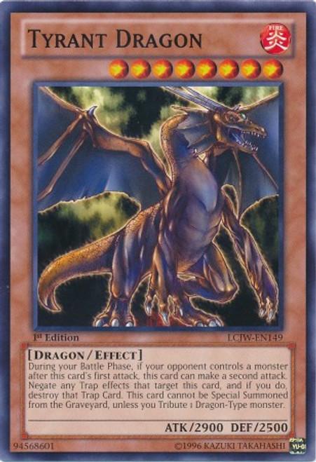 YuGiOh Legendary Collection 4: Joey's World Common Tyrant Dragon LCJW-EN149
