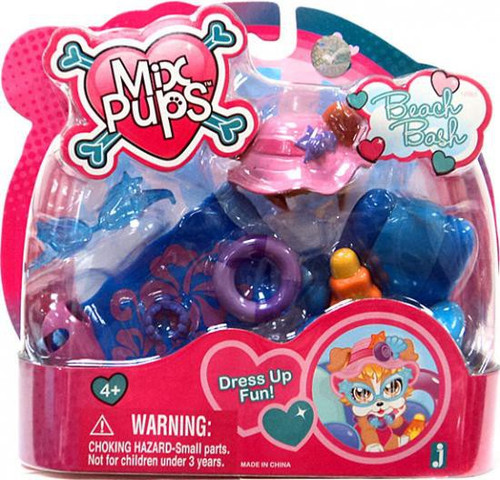 Mix Pups Beach Bash Playset