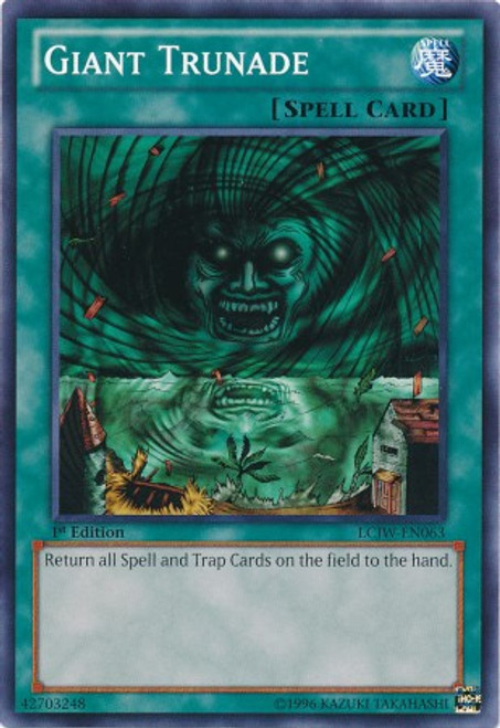 YuGiOh Legendary Collection 4: Joey's World Common Giant Trunade LCJW-EN063