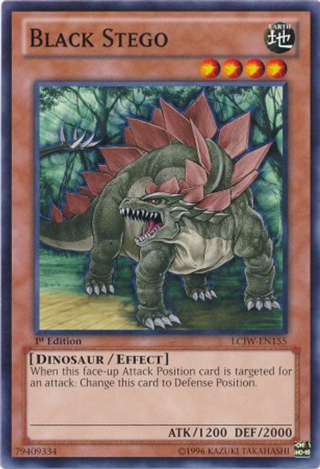 YuGiOh Legendary Collection 4: Joey's World Common Black Stego LCJW-EN155