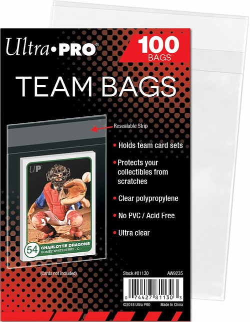 Ultra Pro Card Supplies Team Bags [100 Count]