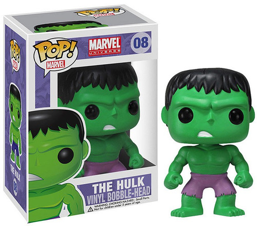 Funko Marvel Universe POP! Marvel Hulk Vinyl Bobble Head #08 [Purple Pants]