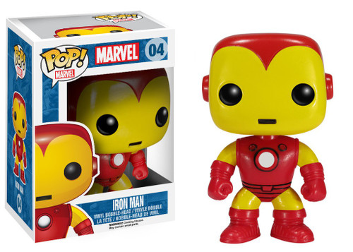Funko Marvel Universe POP! Marvel Iron Man Vinyl Bobble Head #04