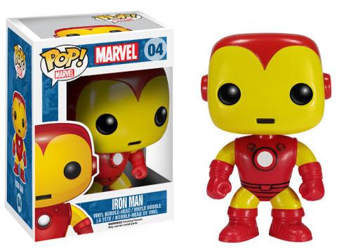 Funko Marvel Universe POP! Marvel Iron Man Vinyl Bobble Head #04