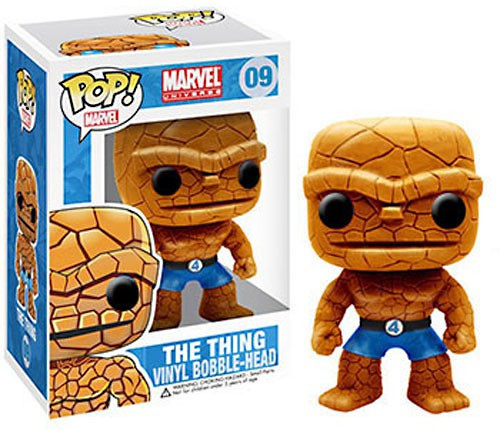 Funko Marvel Universe POP! Marvel Thing Vinyl Bobble Head #09
