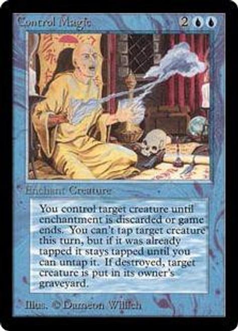 MtG Beta Uncommon Control Magic