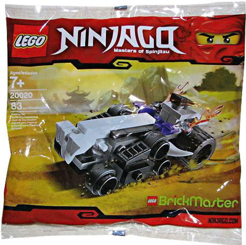 LEGO Ninjago Mini Turbo Shredder Exclusive Mini Set #20020 [Bagged]
