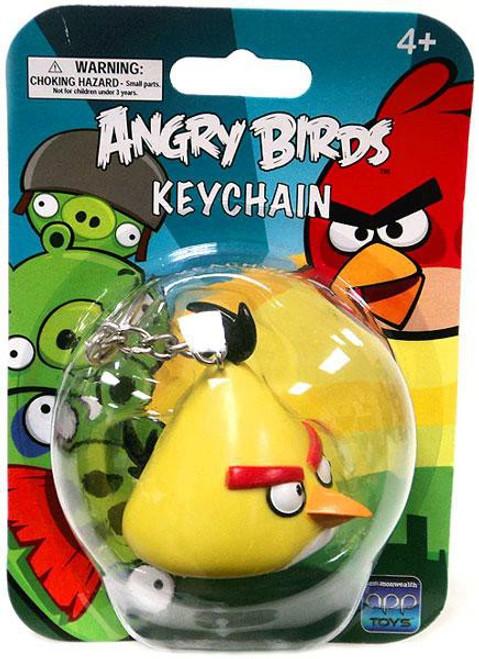 Angry Birds Yellow Bird Keychain