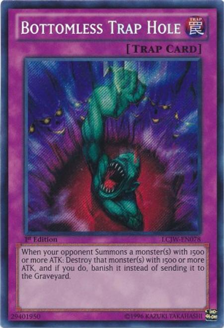 YuGiOh Legendary Collection 4: Joey's World Secret Rare Bottomless Trap Hole LCJW-EN078