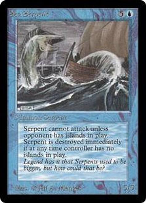 MtG Beta Common Sea Serpent