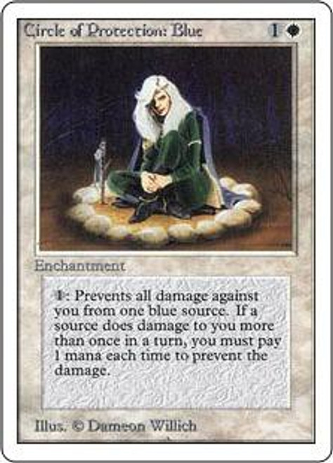 MtG Unlimited Common Circle of Protection: Blue