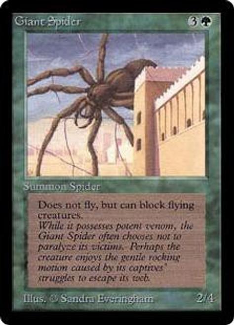 MtG Beta Common Giant Spider