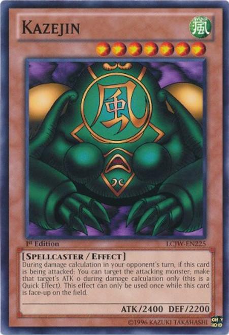 YuGiOh Legendary Collection 4: Joey's World Common Kazejin LCJW-EN225