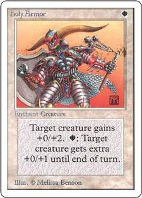 MtG Unlimited Common Holy Armor