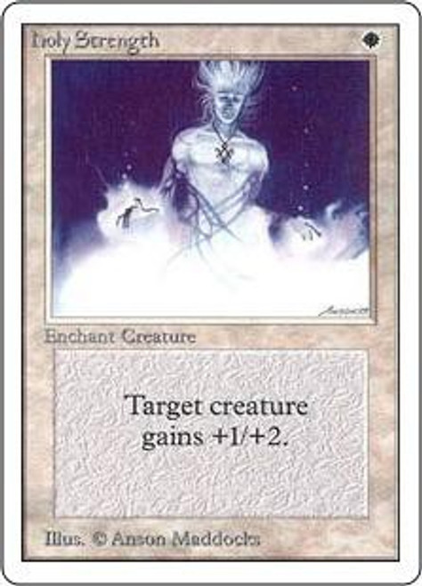 MtG Unlimited Common Holy Strength