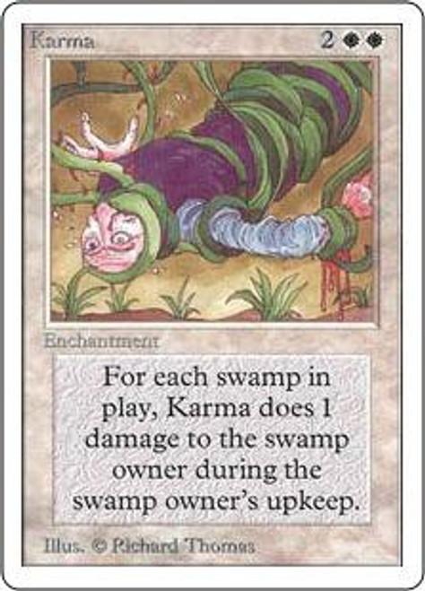 MtG Unlimited Uncommon Karma