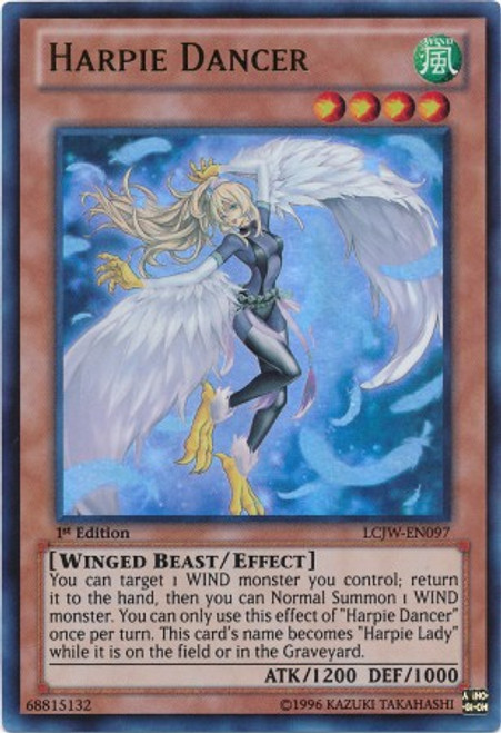 YuGiOh Legendary Collection 4: Joey's World Ultra Rare Harpie Dancer LCJW-EN097