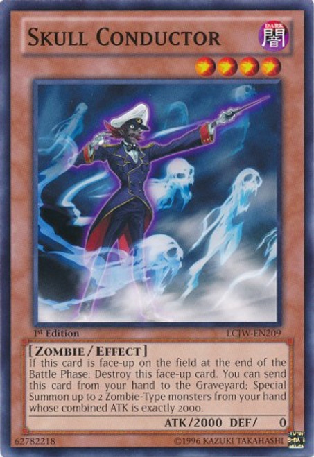 YuGiOh Legendary Collection 4: Joey's World Common Skull Conductor LCJW-EN209