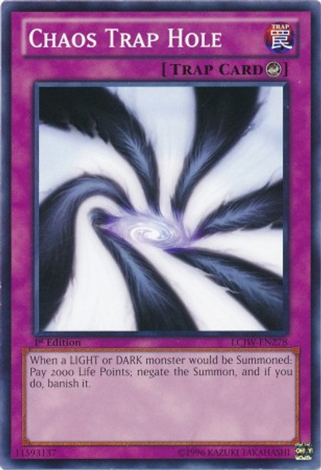 YuGiOh Legendary Collection 4: Joey's World Common Chaos Trap Hole LCJW-EN278